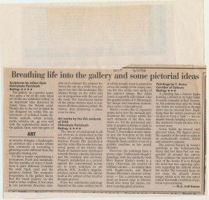 Breathing life into the gallery and some pictorial ideas