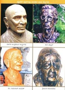 Kanaka's portraits of personalities