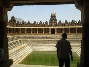 Kalyani in Bhoganandi temple, at foothill of Nandi