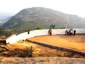 Tipu Drop at Nandi Hills